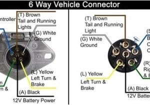 7 Pin Round Trailer Plug Wiring Diagram 6 Round Trailer Plug Wiring Diagram Wiring Diagram Expert
