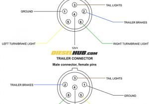 7 Pin Round Trailer Plug Wiring Diagram Wiring Diagram Trailer Plug 6 Pin My Wiring Diagram