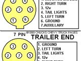 7 Pin Truck Plug Wiring Diagram Trailer Light Wiring Typical Trailer Light Wiring Diagram