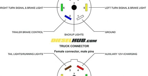 7 Way Connector Wiring Diagram 6 Point Trailer Plug Wiring Diagram Wiring Diagram Show