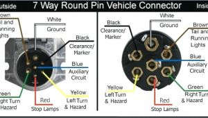 7 Way Trailer Connector Wiring Diagram 7 Wire Wiring Diagram Wiring Diagram