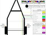 7 Way Trailer Harness Wiring Diagram 5 Pin Trailer Connector 7 Blade Wiring Diagram View Round Plug Qsazzad