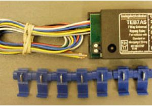 7 Way Universal bypass Relay Wiring Diagram Smart Universal Fitting 7 Way bypass Relay Teb7as towbar towing