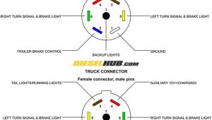 7 Wire Tractor Trailer Wiring Diagram Truck and Trailer Wiring Schematic Wiring Diagram Inside