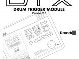 791 bypass Module Wiring Diagram Yamaha Dtx Version 2 0 Owner S Manual Dtxv2g1