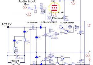 8 Bazooka Tube Wiring Diagram Ac 12v 1a 6j1 Wert Vorverstarker Tube Preamp Verstarkerplatine