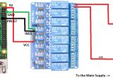 8 Relay Module Wiring Diagram Controlling Switches From Both Raspberry Pi Relay Manual