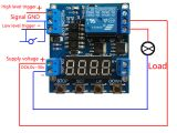 8 Relay Module Wiring Diagram Details Zu Multifunction Zyklus Delay Timer Relay Module for Timing and Counting