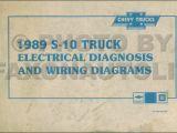 89 K5 Blazer Wiring Diagram 1988 Chevy S10 Pick Up Wiring Diagram Schema Wiring Diagram