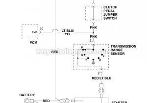 94 ford Ranger Wiring Diagram 1994 ford Ranger Starter Wiring Diagram Wiring Diagram Mega