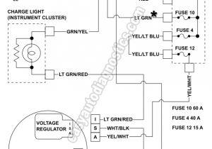 94 ford Ranger Wiring Diagram ford Ranger Alternator Wiring Diagram Wiring Diagram Expert