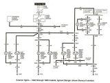 94 ford Ranger Wiring Diagram ford Ranger Tail Light Wiring Diagram My Wiring Diagram