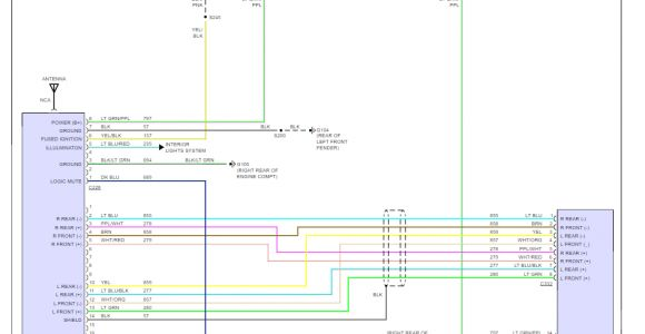 97 F150 Stereo Wiring Diagram 97 ford F150 Stereo Wiring Diagram Collection Wiring