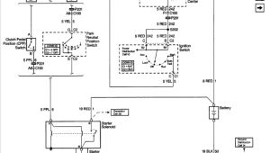 98 Chevy Cavalier Starter Wiring Diagram 98 Chevy Cavalier Will Only Start when Jumping the