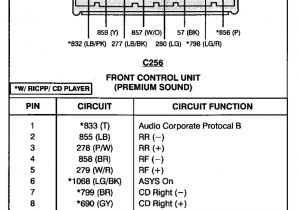 99 ford Explorer Radio Wiring Diagram ford Radio Wiring Schematic Wiring Diagram Name