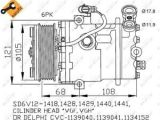 Ac Compressor Wiring Diagram Vauxhall astra G 2 0d Air Con Compressor 00 to 04 Ac Conditioning