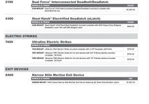 Adams Rite 7400 Wiring Diagram Adams Rite 2017 Price List Adamsrite2017
