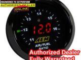 Aem Air Fuel Ratio Gauge Wiring Diagram Car Truck Gauges for Sale Ebay