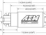 Aeromotive Fuel Pump Wiring Diagram Details Zu Aem 340lph E85 Compatible Hoher Durchfluss Kompakt In Tank Kraftstoffpumpe