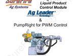 Ag Leader Integra Wiring Diagram Pumpright Fertilizer System for Ag Leader Manualzz Com