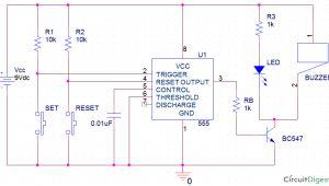 Alarm Panic button Wiring Diagram Panic Alarm Circuit Diagram Circuit Diagram