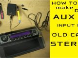 Alpine iPod Cable Wiring Diagram Aux Input Installation for Any Old Model Car Stereo even without Cd