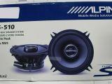 Alpine Sps 610c Wiring Diagram Alpine Sps 510 2 Way 5 25in Car Speaker for Sale Online Ebay