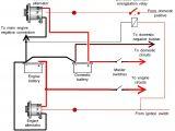Alternator to Battery Wiring Diagram Wiring Agm Alternator 2003 Wiring Diagram Expert