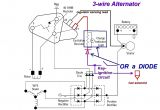 Alternator Warning Light Wiring Diagram 3 Wire Alternator Wiring Diagram Bmw Wiring Diagram Centre