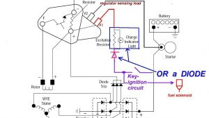Alternator Wiring Diagram Internal Regulator 3 Wire Alternator Regulator Diagram Seaboard Marine
