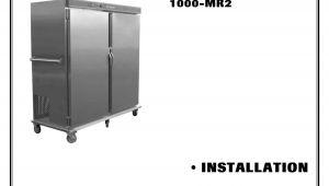 Alto Shaam 1000 Th I Wiring Diagram Alto Shaam Refrigerator 1000 Mr2 User Manual Manualzz Com