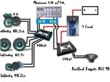 Amp and Capacitor Wiring Diagram Car sound System Diagram Car Audio System Wiring Diagram