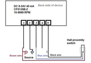 Analog Amp Meter Wiring Diagram Digital Led Rpm Speedometer Tachometer with Hall Senzor