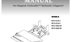 Anthony Liftgate Switch Wiring Diagram Anthony Mtu Series Liftgate by the Liftgate Parts Co issuu
