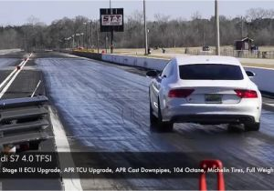 Apr Audi S7 0-60 Apr S6 S7 Stage 2 Quarter Mile with Apr Cast Race Dp Youtube