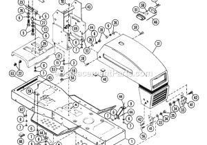 Ariens Riding Mower Wiring Diagram Ariens Yt1138 11hp 38 Lawn Tractor 935003