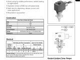 Asco solenoid Valve Wiring Diagram asco Valve 8360 Series Plastic Body Three Manualzz Com