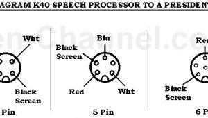 Astatic 575 M6 Wiring Diagram Bsi Microphone Wiring Diagram Wiring Diagram