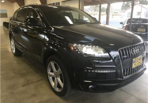 Audi 3rd Row Wagon 2015 Used Audi Q7 Blind Spot Alert Panorama Roof Third Row