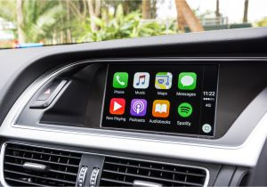Audi A3 Carplay 2015 Apple Carplay Retrofit Upgrade is Available Older Audi Vehicles