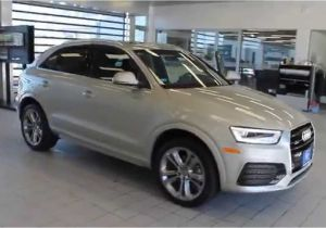 Audi Q3 All Colors 2016 Audi Q3 Cuvee Silver Metallic Stock 110757 Walk Around