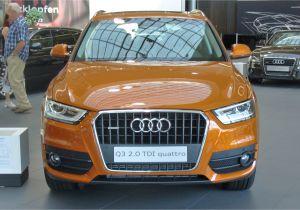 Audi Q3 All Colors File Audi Q3 2 0 Tdi Quattro S Tronic Samoaorange Front Jpg