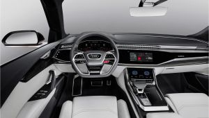Audi Q8 2016 Interior New Audi Q8 Sport Concept is A 469hp Suv Heading Our Way Fast