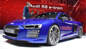 Audi R8 E Tron Special Edition On Again Off Again Audi R8 E Tron Comes Back with A Vengance