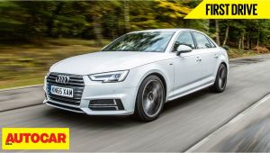 Audi Sedan Models In India Audi A4 First Drive Autocar India Youtube
