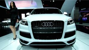 Audi Suv Models 2015 2013 Audi Q7 Tdi Quattro Exterior and Interior Walkaround 2012