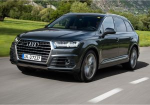 Audi Suv Models 2018 2017 Audi Q7 First Drive Review Car and Driver