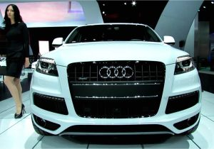 Audi Suv Models 2019 2013 Audi Q7 Tdi Quattro Exterior and Interior Walkaround 2012