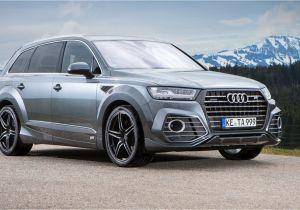 Audi Suv Models 2019 Audi Q7 Abt Sportsline