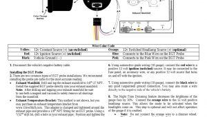 Autometer Pyrometer Wiring Diagram Egt Wiring Diagram Wiring Diagram Structure